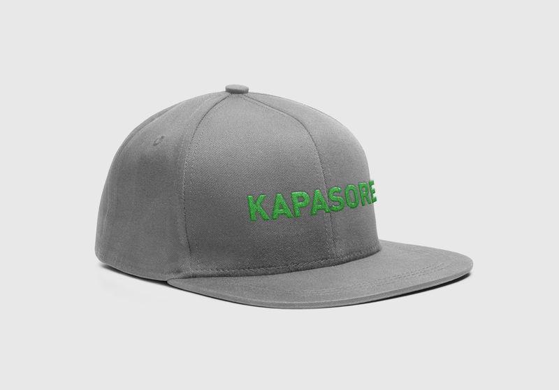 Kapasore cap, logo tikitud