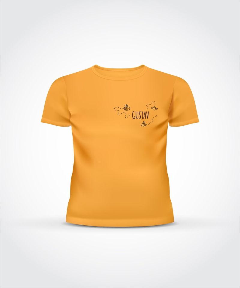 Lasteaia võimlemistunni t-särk logoga