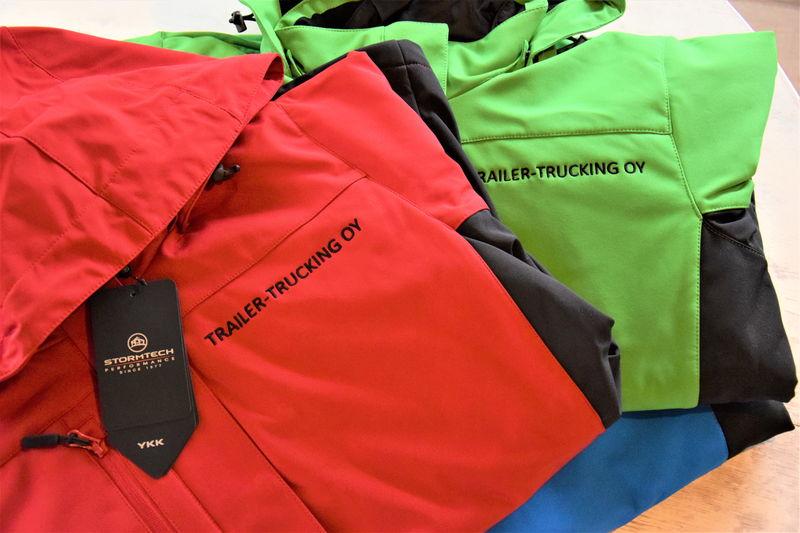 TralierTrucking OY Stormtech 3in1 joped, logo trükitud